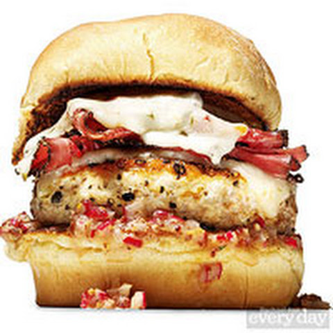 Marc Murphy Chicken Pastrami Burger