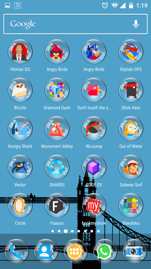 Glass 3D Icon Pack Screenshot 6