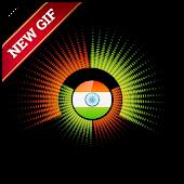 Indian Flag GIF APK for Bluestacks
