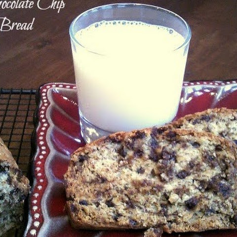 Egg-Free Chocolate Chip Banana Bread