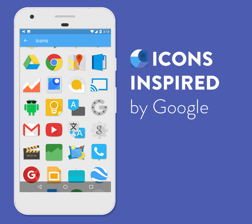 Moonshine - Icon Pack – Screenshot