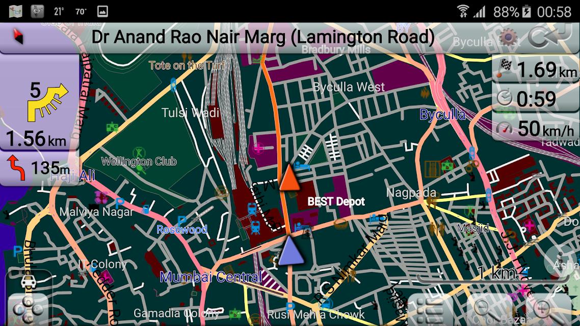 Map of India screenshots