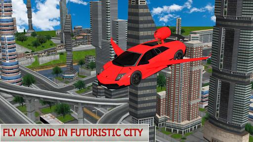 Flying Future Dream Car