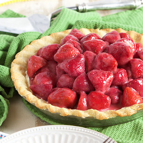 Fresh Strawberry Pie with Cream Cheese
