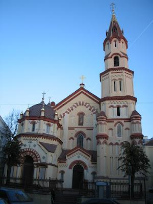 Церковь Св. Николая Чудотворца в Вильнюсе