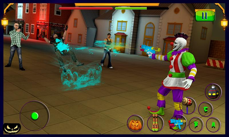 Scary Clown : Halloween Night Screenshot 3
