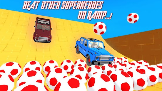 Superheroes Buggy Car Stunts 3d