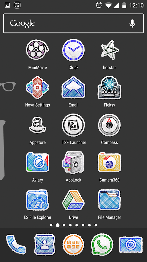 Doodle Draw Icon Pack Screenshot 6