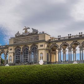 Gloriette by Ole Steffensen - Buildings & Architecture Public & Historical ( palace, gloriette, garden, austria, wien, vienna, schönbrunn )