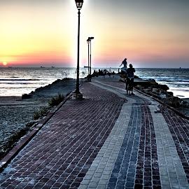HDR. Sea park by Rabo Rafaelov - City,  Street & Park  Street Scenes