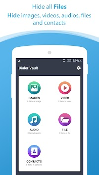 Dialer Vault I Hide Photo Video App OS 11 Phone 8 APK screenshot thumbnail 3