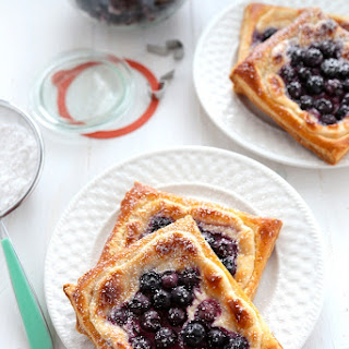 20-Minute Blueberry Cream Cheese Danishes