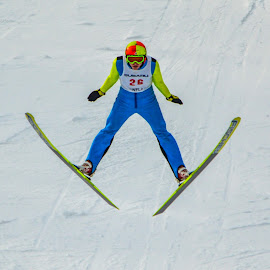 US Olympic Trial Ski Jumping 6 by Tom Anderson - Sports & Fitness Snow Sports ( olympics, ski jumping )