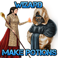 Wizard - Make Potions Game