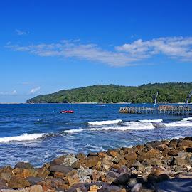 Pangandaran Beach #2 by Mulawardi Sutanto - Landscapes Beaches ( pantai, beach, pangandaran, ciamis, west java, travel, indonesia )