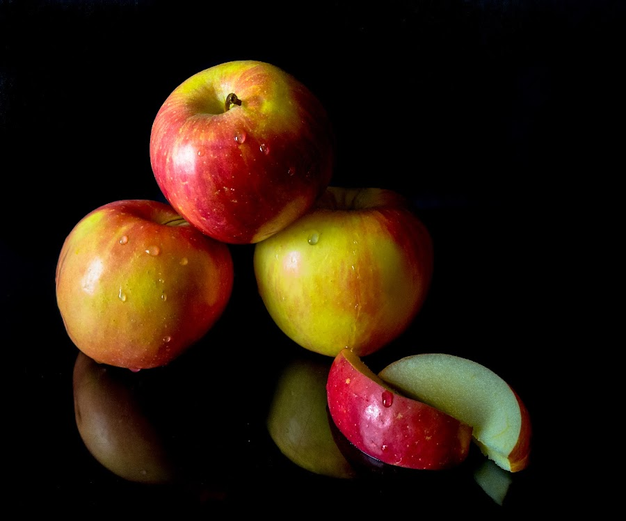 An Apple a Day by Antonio Winston - Food & Drink Fruits & Vegetables