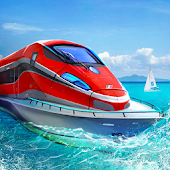 Download Water Train Drive Simulator APK to PC