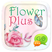 (FREE) GO SMS FLOWER PLUS THEME