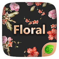 Floral GO Keyboard Theme Emoji For PC (Windows And Mac)