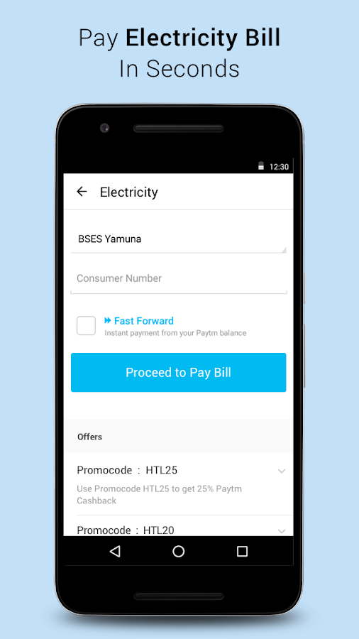 Recharge, Bill Pay & Wallet Screenshot 3