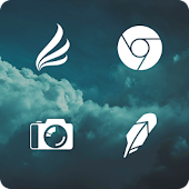 App Flight Lite - Minimalist Icons version 2015 APK