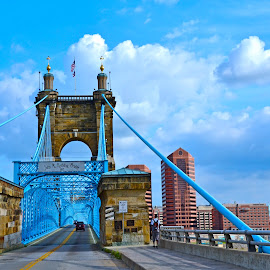 Covington, KY by Robin Stover - Buildings & Architecture Bridges & Suspended Structures