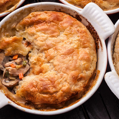 Chicken and Mushroom Pot Pies