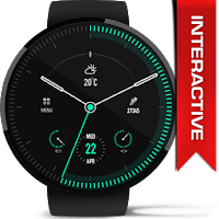 Minimus Interactive Watch Face For PC (Windows And Mac)