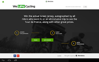 Screenshot of TOUR DE FRANCE 2015 by ŠKODA