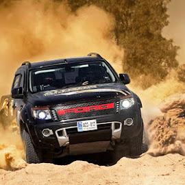 Ranger by Abdul Rehman - Sports & Fitness Motorsports ( 2017, rally, sand, cholistan, dust, ranger, ford, race )
