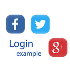 SocMed Login Example