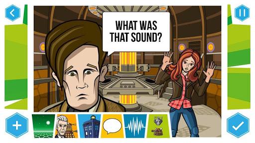 Doctor Who: Comic Creator - screenshot