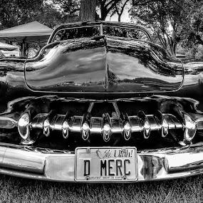 D Merc by Bill Hutson - Transportation Automobiles