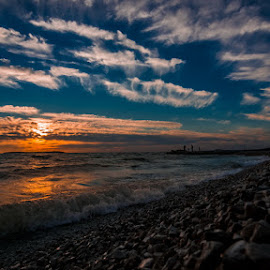 beaches by Nenad Bartolović - Landscapes Beaches ( clouds, beaches, sunset )