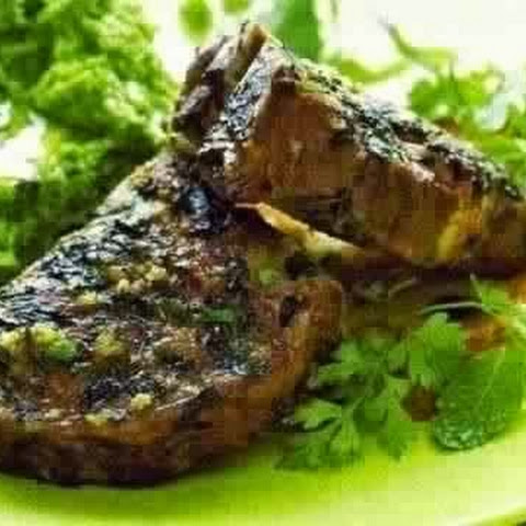 Lamb Baked In Mint
