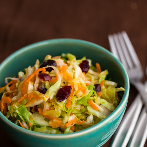 Cabbage Carrot and Cranberry Salad