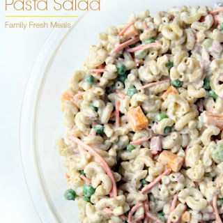 Creamy Ranch Pasta Salad