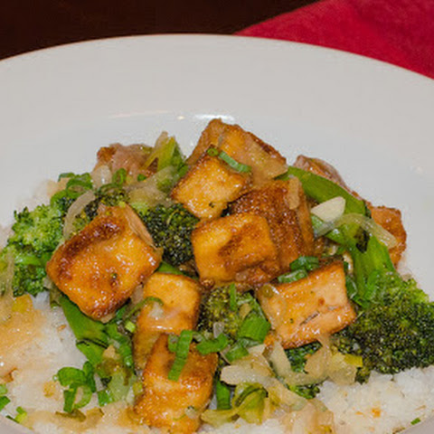 Crispy Lemon Tofu with Broccoli