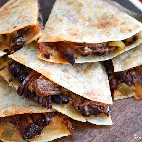 Slow Cooker Beef Quesadillas