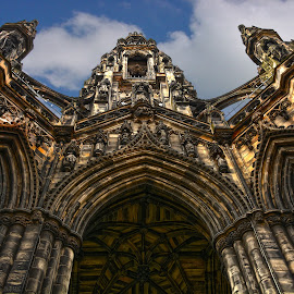 The Scott Monument, Edinburgh by Lesley Hudspith - Buildings & Architecture Statues & Monuments ( scott, gothic, edinburgh, monument, architecture,  )