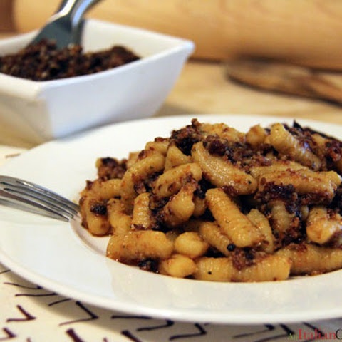 Homemade Cavatelli with Roasted Tomato Pesto
