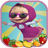 Free Download Masha Toys Jump Fruit - kids games APK for Samsung