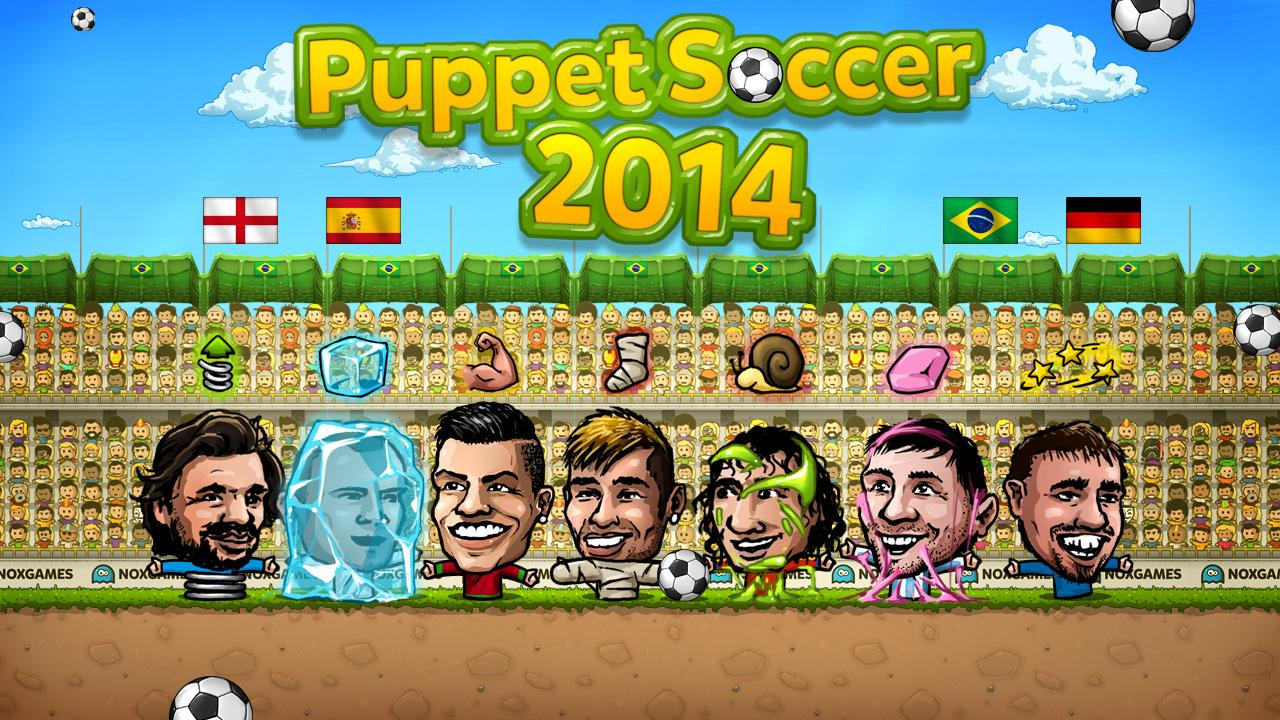 Puppet Soccer 2014 - Football Screenshot 11
