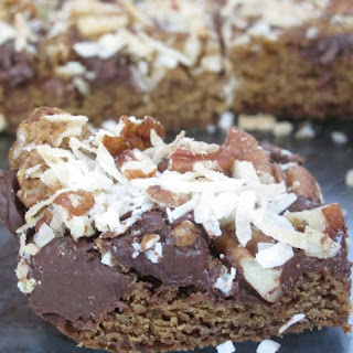 Chocolate Pecan Coconut Bars Recipes