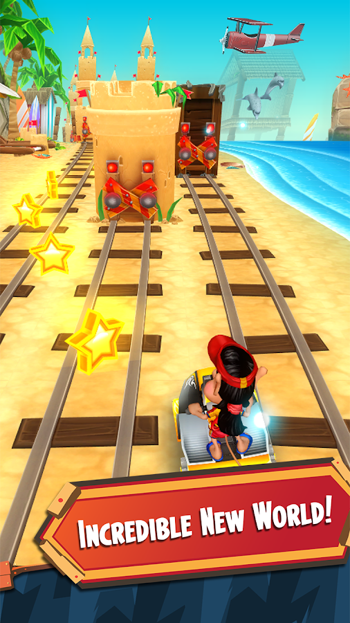 Hugo Troll Race 2. Screenshot 1