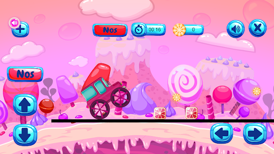 Hill Climb Race Candy Mobile- screenshot thumbnail