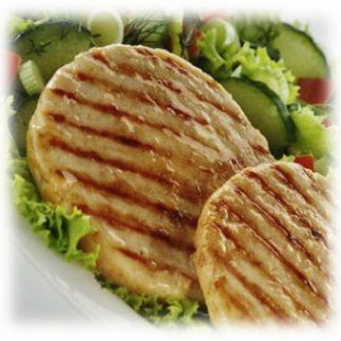 Low Carb Delicious Turkey Burgers Stuffed with Feta