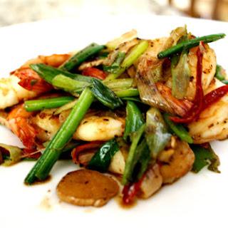 Ginger Scallion Shrimp Recipes