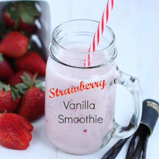 Strawberry Vanilla Smoothie