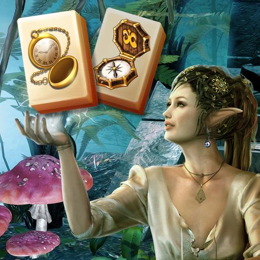 Mahjong Magic Worlds: Journey of the Wood Elves